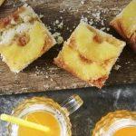 Gâteau à l'ananas et au caramel