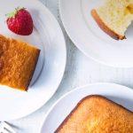 Gâteau au lait concentré