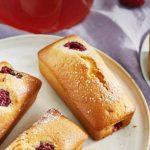 Cakes aux framboises