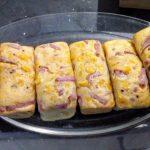 Cake au jambon et aux tomates confites