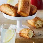 Cakes au citron et aux graines de pavot