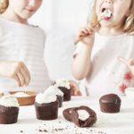 Cœurs tendres au chocolat et au lait de coco