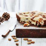 Gâteau à l'amande et aux abricots secs