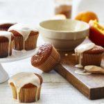 Cupcakes à l'orange et à la cannelle