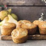 Muffins aux poires vegan