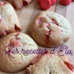 Cookies à la fraise Tagada