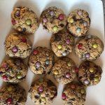 Cookies au chocolat noir et smarties