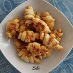mini-croissants au jambon