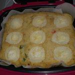 Cake au thon, poivron et chèvre