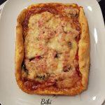 Pizza Jambon, Champignons & Fromage