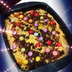 gâteau cookies géant moelleux au chocolat