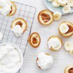 Tartelettes à la banane et à la confiture de lait