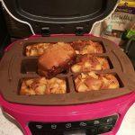 Mini cake allégé aux pommes