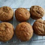 Muffins fourrés a la compote de pomme