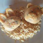 Petit pain de thon et crevettes