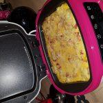 Tortilla  de pomme de terre oignon lardinettes