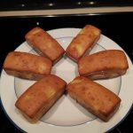 cakes aux ananas