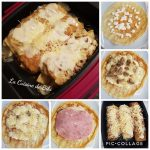 Crêpes jambon champignons fromage