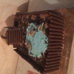 Gâteau génoise et ganache montée