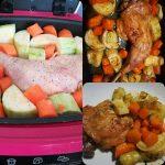 Cuisse de poulet carottes et courgettes fond de volaille