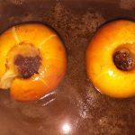 Pommes aux raisins et cassonade