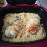 Filets de poulet à la crème et paprika