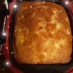 gâteau aux pommes simple avec du pralin