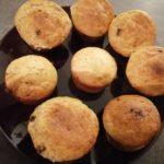muffins banane cœur Nutella