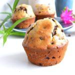 muffins aux pépites de chocolat sans sucre / sans beurre