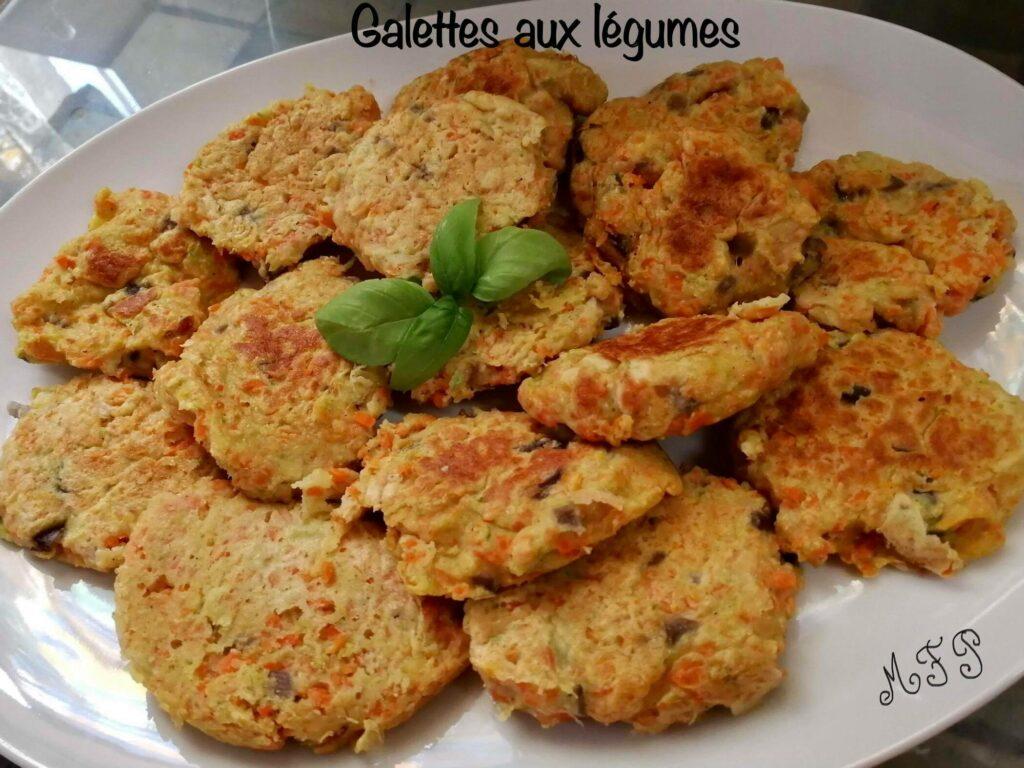 Galettes aux Légumes - Recette Cake Factory