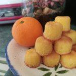 Bouchons fondants à l'orange