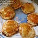 Sucettes d'andouille et compotée de pommes et d'oignon au muscat