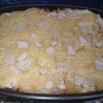 Gratin coquillettes camembert