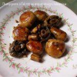 Champignons à l'ail rôti au soja et vinaigre balsamique