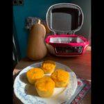 Muffin butternut parmesan coeur vache qui rit
