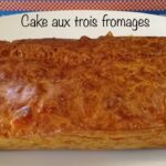 Cake aux trois fromages